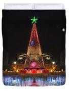 Adelaide Christmas Lights  Vg Duvet Cover