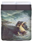 Adieu Duvet Cover by Alfred Guillou