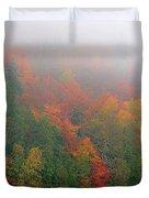 Adirondack Autumn Colors Duvet Cover