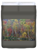 Adirondack Birch Foliage Duvet Cover