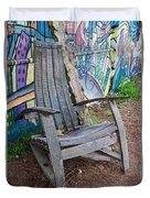 Adirondack Chair ? Duvet Cover