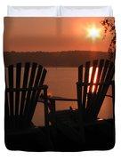 Adirondack Chairs-1 Duvet Cover