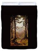 Adirondack Landscape Duvet Cover