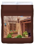 Adobe Gallery, Santa Fe Duvet Cover