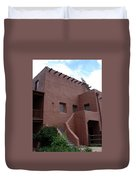 Adobe House At Red Rocks Colorado Duvet Cover
