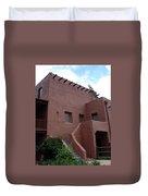 Adobe House At Red Rocks Colorado Duvet Cover