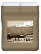 Adobe House Duvet Cover