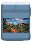 Adobe Jack Trail Duvet Cover