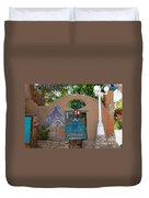 Adobe Wall Chimayo  Duvet Cover