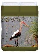 Adolescent Ibis Duvet Cover