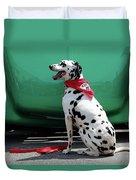 Happy Dalmatian  Duvet Cover
