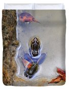 Adopted Amphibian Duvet Cover