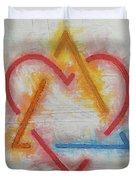 Adoption Symbol Duvet Cover