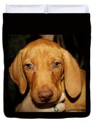 Adorable Vizsla Puppy Duvet Cover