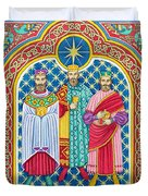 Adoration Of The Magi  Duvet Cover