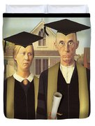 Adult Graduates Duvet Cover