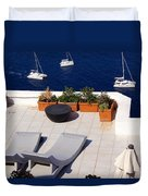 Aegean Wonderland Duvet Cover