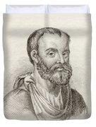 Aelius Galenus Or Claudius Galenus Duvet Cover