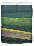 Aerial Abstract Duvet Cover