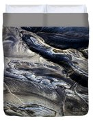 Aerial Photo Hekla Iceland Duvet Cover