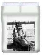 Aerial Torpedo, 1915 Duvet Cover