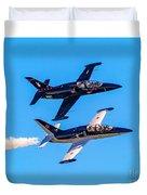 Aero L-39c Albatros Jet Trainers Duvet Cover