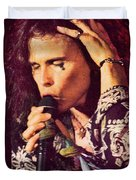 Aerosmith-94-steven-1192 Duvet Cover