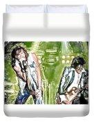 Aerosmith Watercolor Duvet Cover