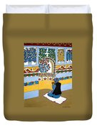 Afghan Mosque Duvet Cover