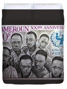 Africa Unicef Duvet Cover