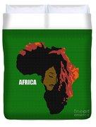 Africa Woman Duvet Cover