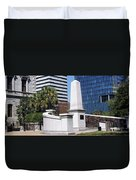 African American History Monument Duvet Cover
