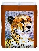 African Cheetah Duvet Cover