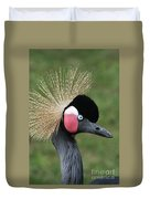 African Crowned Crane #7 Duvet Cover