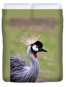 African Crowned Crane Duvet Cover