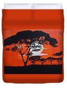 African Heat Duvet Cover