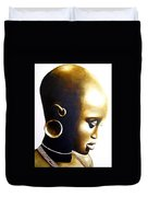 African Lady - Original Artwork Duvet Cover