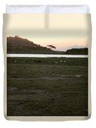 African Lake Duvet Cover