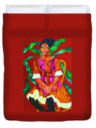 African Princess Duvet Cover