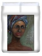 African Beauty  Duvet Cover