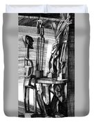 African Statues Duvet Cover