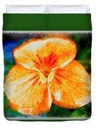 African Violet In Rancho Santa Fe 2 Duvet Cover