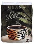 Afrikan Coffees II Duvet Cover