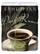Afrikan Coffees Iv Duvet Cover