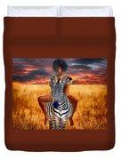 Afrikkan Princess  Duvet Cover