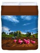 Afriquarium Duvet Cover