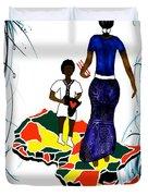 Afrique Walk Duvet Cover