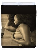 Afro Pic Duvet Cover
