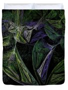 Afro-violet Feeling Duvet Cover