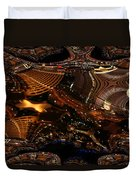 After A Night In Vegas Duvet Cover